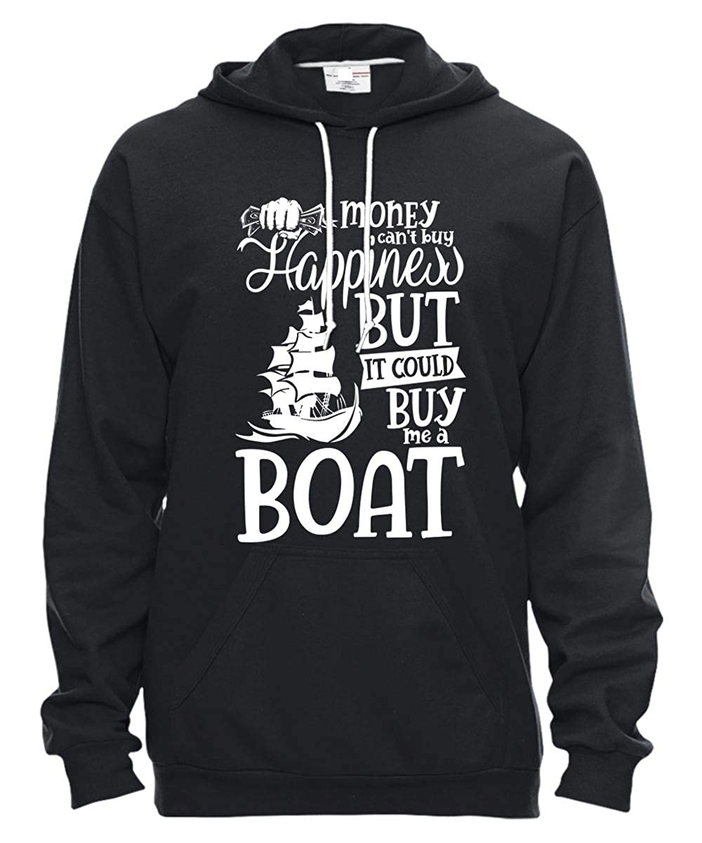 e72ca0c1 Amazon.com: I Love Boat T Shirt, It Could Buy Me A Boat Hooded Fleece:  Clothing