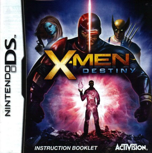 Price comparison product image X-Men Destiny DS Instruction Booklet (Nintendo DS Manual Only - NO GAME) (Nintendo DS Manual)