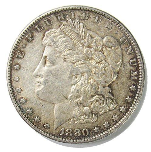 1880 O Morgan Silver Dollar $1 XF (1880 O Morgan Silver Dollar Coins)