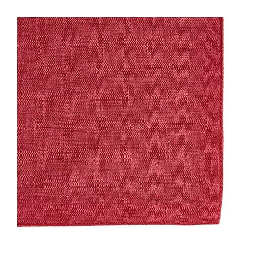 """Town & Country Living Somers Table Runner 15""""x72"""" Rectangle, Stain Resistant Machine Washable Polyester, Solid Red -  - table-runners, kitchen-dining-room-table-linens, kitchen-dining-room - 617XPmRFJYL. SS570  -"""