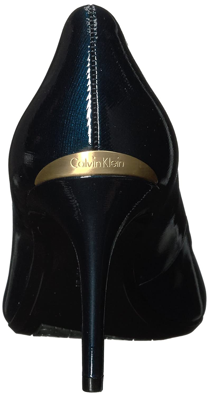 Calvin Klein Women's Gayle Pump B01NBB0EP2 8 B(M) US|Deep Navy