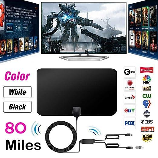 Antena HDTV de Papel Fino de 0.7 mm con excelente Rendimiento para ...