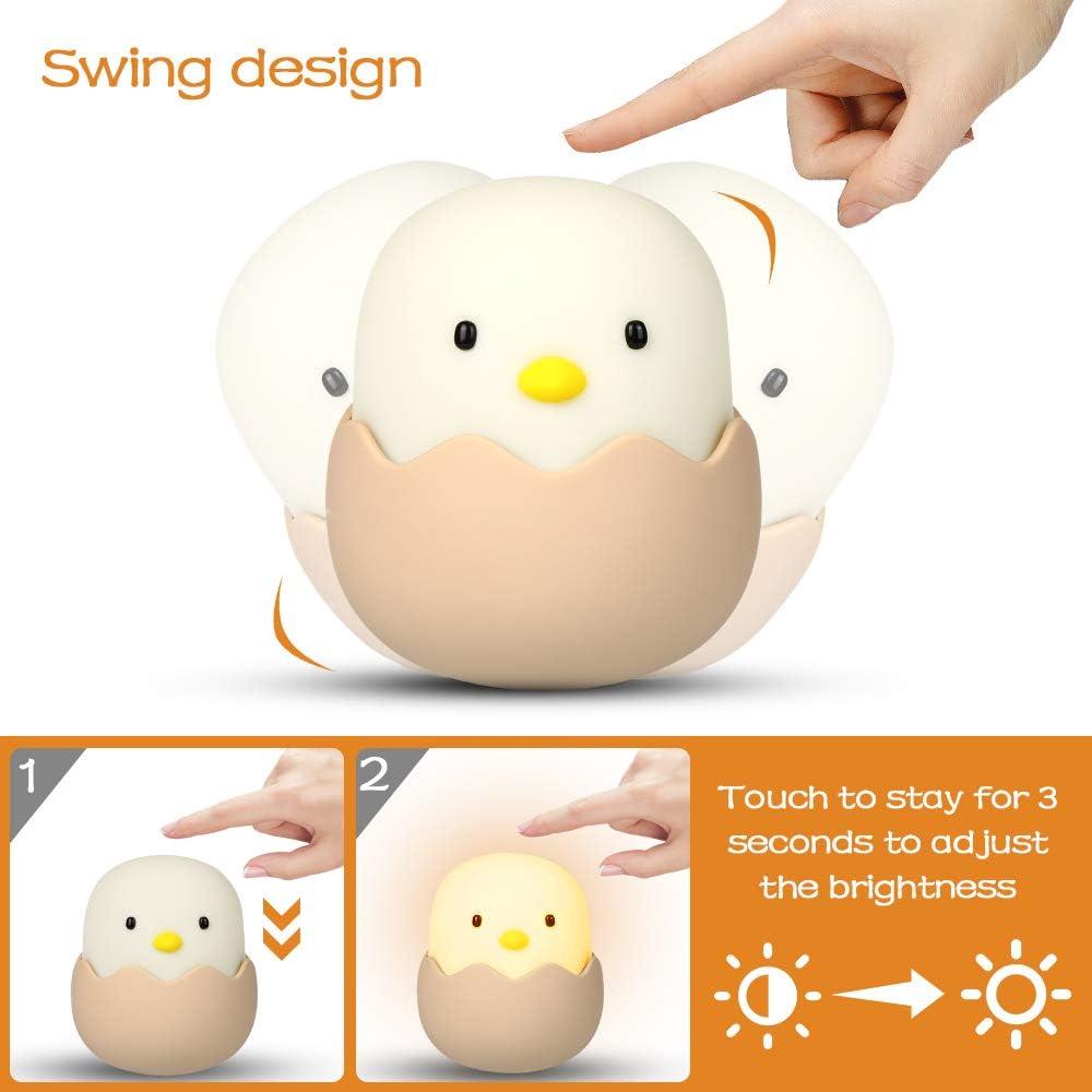 dormir et se d/étendre. Etmury Veilleuse LED pour enfants veilleuse pour lire lampe de chevet pour chambre /à coucher lampe de chevet avec lumi/ère jaune et interrupteur tactile