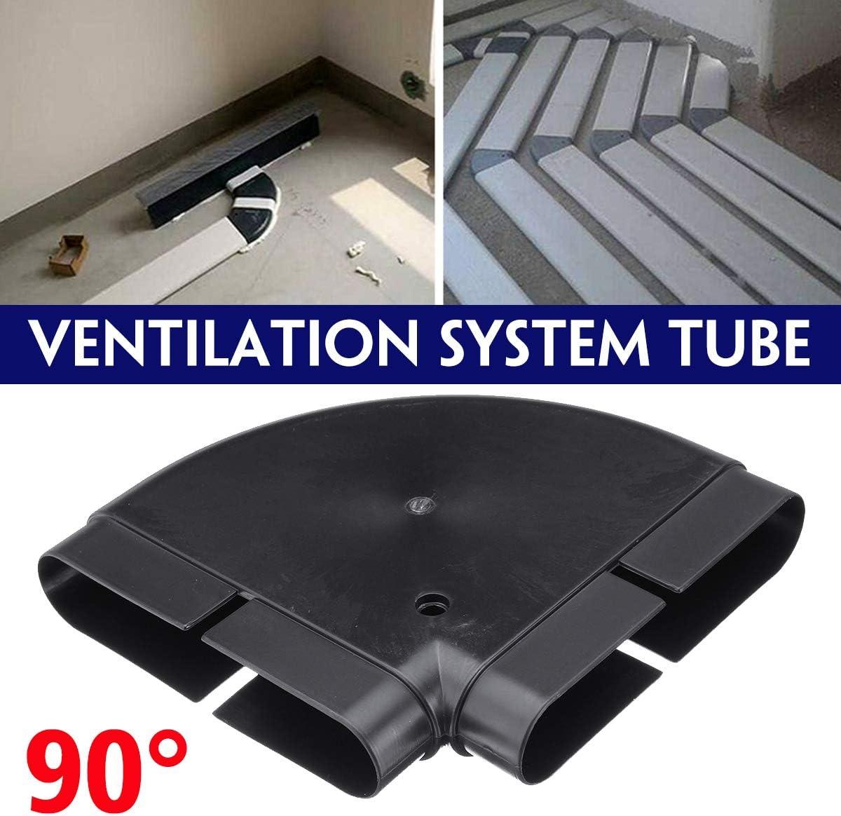 KUNSE Sistema De Ventilación De 90 Tubos De PVC Tubo De Protección Ambiental 132X30 Mm: Amazon.es: Hogar