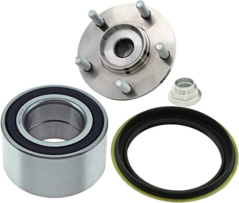 Front Wheel Hub /& Bearing /& Seals Kit Assembly FOR Nissan Altima  1998-2001