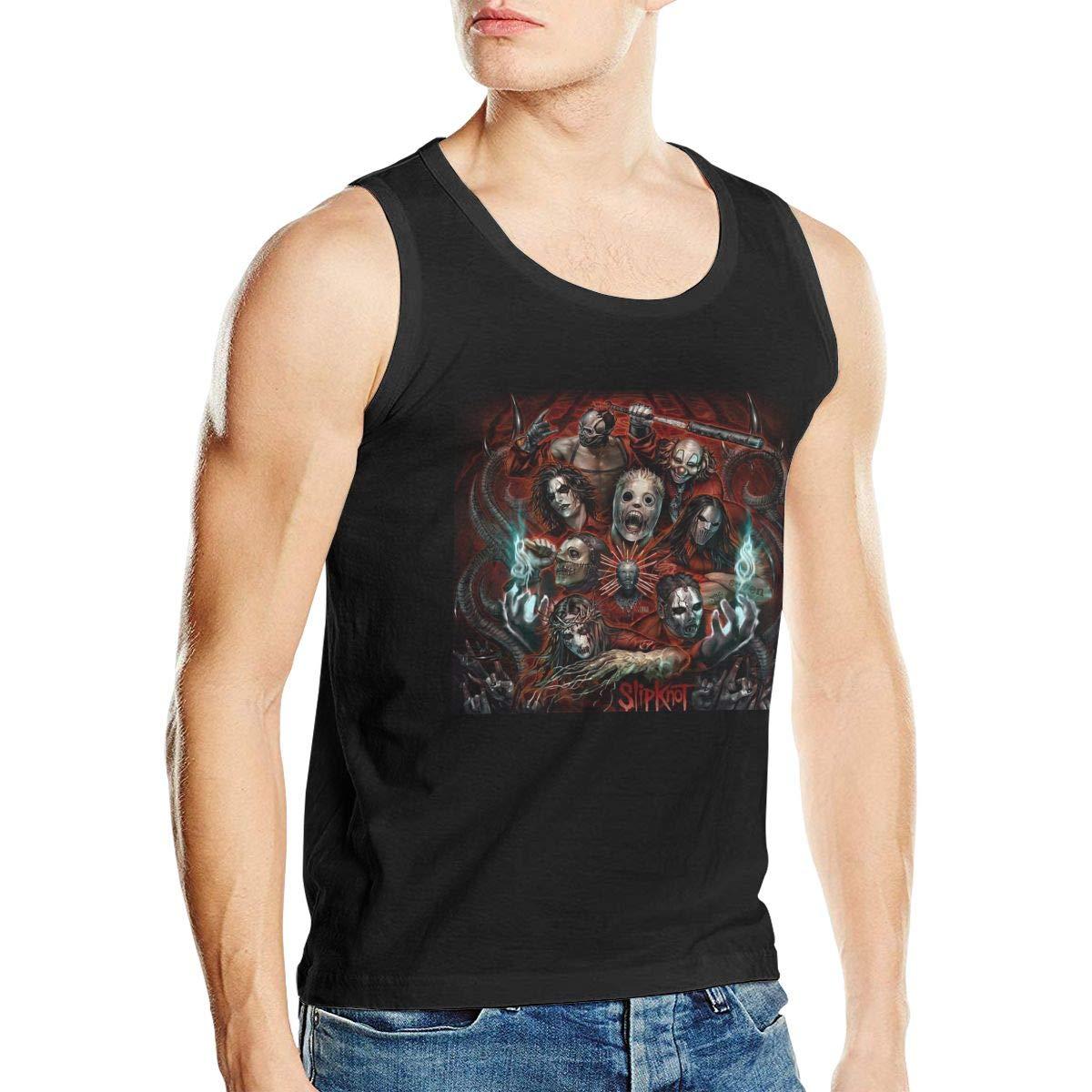 Slipknot Man Stylish Sleeveless No Pocket Mens Tank Top Shirt