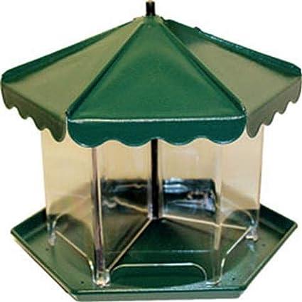 Amazon Com Homestead 3502 Mini Triple Bin Party Bird Feeder Garden Outdoor