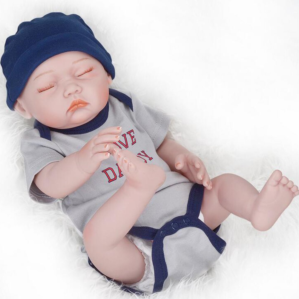 Amazon.com: Muñeca de 20.5 in / 21 pulgadas, cuerpo de ...