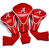 Team Golf NCAA Contour Golf Club Headcovers (3 Count), Numbered 1, 3, & X, Fits Oversized Drivers, Utility, Rescue…
