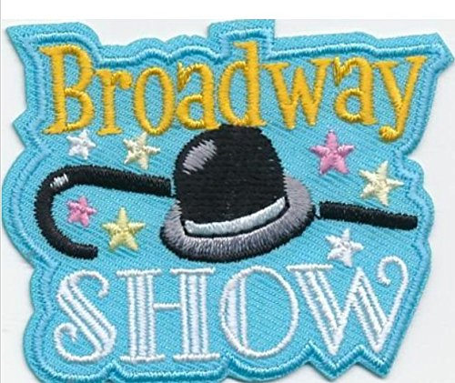 Cub Girl Boy BROADWAY SHOW Embroidered Iron-On Fun Patch Crests Badge Scout -