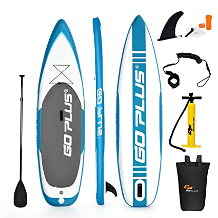 COSTWAY Tabla de Paddle Surf Hinchable 305 x 76 x 15 cm Sup Board ...
