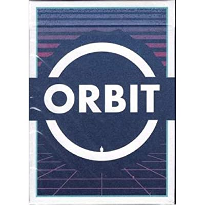 Orbit V7 Seventh Edtion Playing Cards Poker Size Deck USPCC Custom Limited Edition for Cardistry and Card Magic: Sports & Outdoors