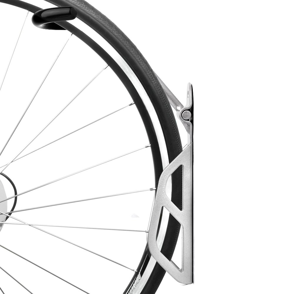 Ibera Bike Single Vertical Mounting Storage Hook Wall Hanger
