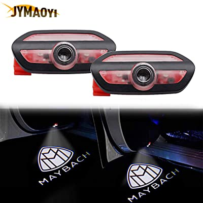For Benz Door Light LED, 2PCS MAYBACH Logo Welcome Lights MABACH Car Ghost Shadow Light Lamp Wireless for Benz S-class W222 2014-2020 S400 S400L S450 S500 S550 S550e S600 S600L S63AMG S65AMG S680: Automotive