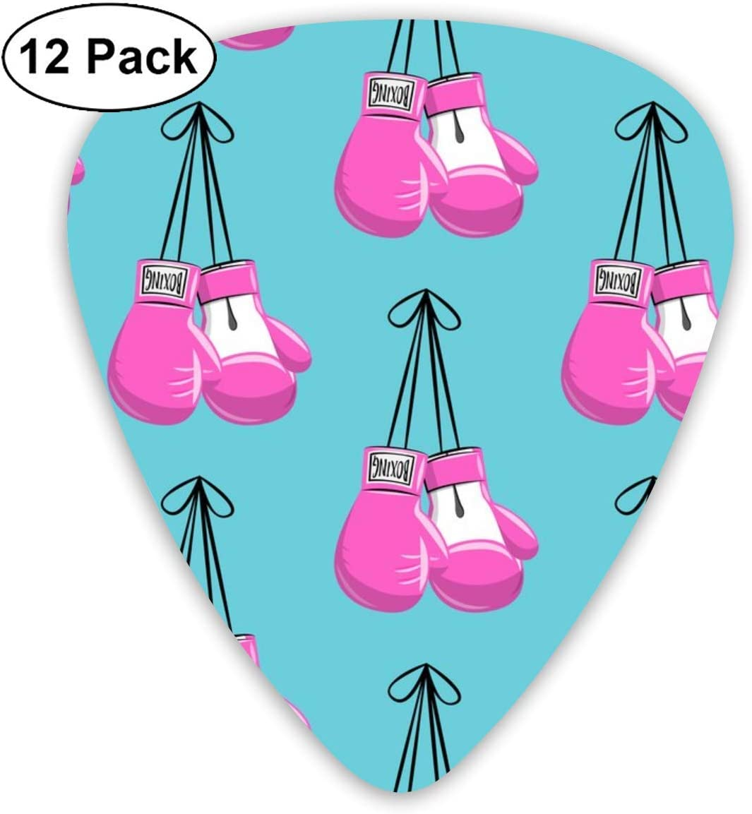 Boxing Gloves On String - Pink On Blue - LAD19_941 Classic Celluloid Picks, 12-Pack, For Electric Guitar, Acoustic Guitar, Mandolin, And Bass: Amazon.es: Instrumentos musicales