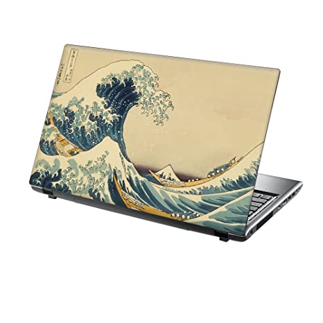"""TaylorHe Laptop Skin 17/"""" Vinyl Sticker Decal Protection Cover Marble Metal"""