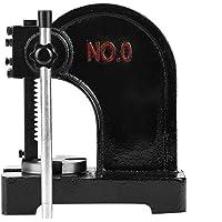 Arbor Press, 1/2 Ton Metal Arbor Press Tool Manual Desktop Hand Punch Press Machine