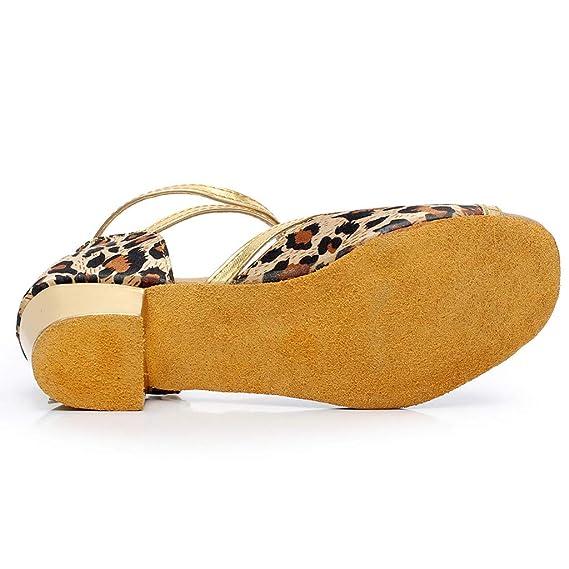 Toddler Sandals FAPIZI Infant Baby Kids Girls Princess Dancing Ballroom Tango Latin Shoes Loafers
