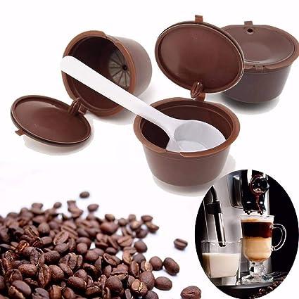 Amazon.com: YULong 1Pc Reusable Capsule Pod Coffee Filter ...