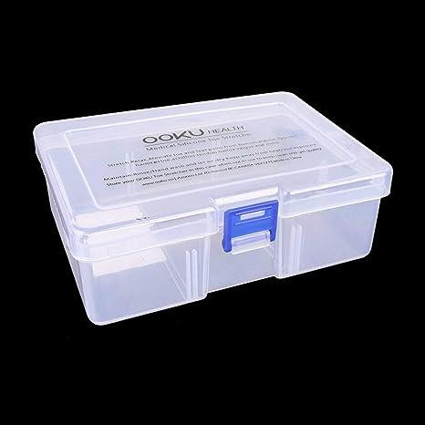 Heaviesk Mini Caja De Plástico Transparente Pequeña Caja de ...