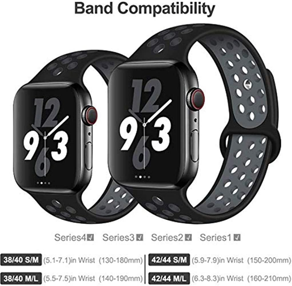 Doxmal Correa para Apple Watch Correa 38 mm 40 mm, Deportiva ...