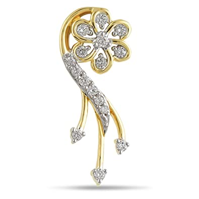 f91007a48022a Buy ORRA 18k (750) Yellow Gold and Diamond Pendant Online at Low ...