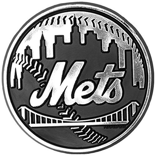 Team ProMark MLB New York Mets Chrome Automobile (Mlb Team Decal)