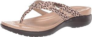 Crocs Women's Capri Strappy Flip Flop | Casual Comfortable Sandals