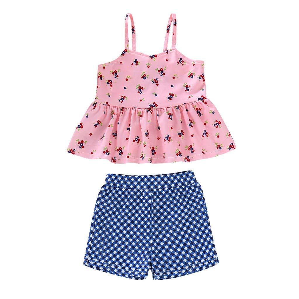 Toddler Girl Cartoon Two-Piece Swimwear Bathing Beachwear Swimsuit Bathing Suit Clothes Set