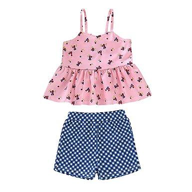 8c6409f17 Mealeaf ❤️️Toddler Kids Girl Cartoon Two-Piece Swimwear Swimsuit Bathing  Suit Clothes