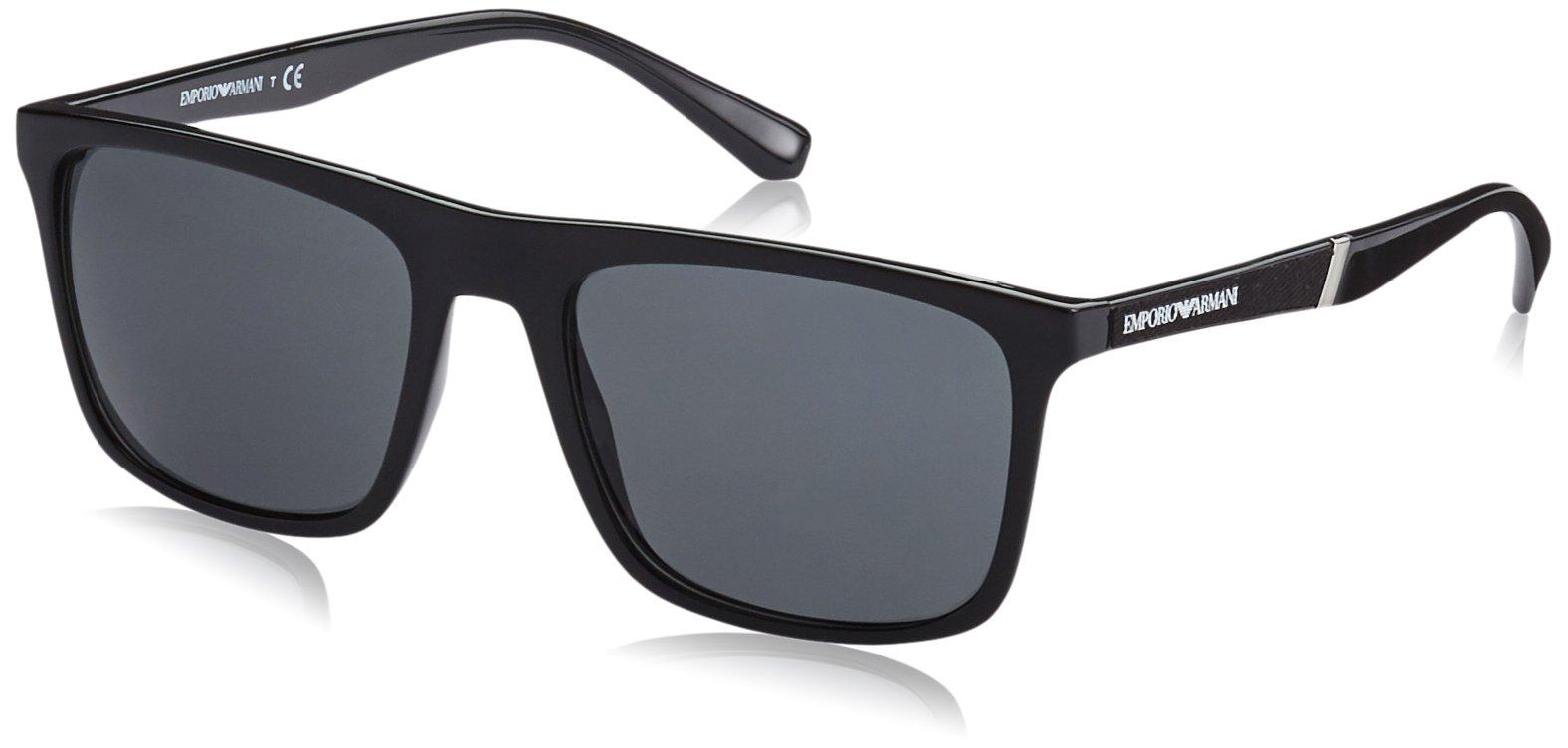 Sunglasses Emporio Armani EA 4097 501787 BLACK by Emporio Armani