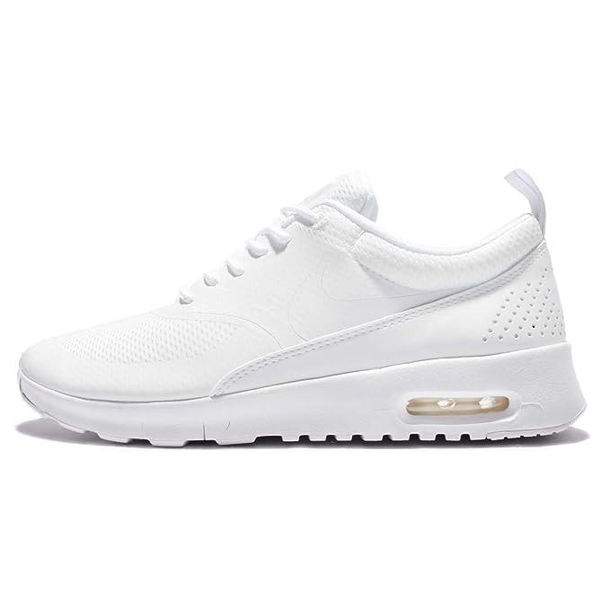NIKE Sneaker stringata AIR MAX THEA Donna Taglia IT 385 bianco