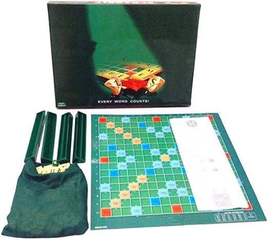 Dinapy Juego de Inteligencia para niños Juego de Scrabble en inglés Hechizo con Letras en inglés Aprendizaje de Palabras Ayudas para la enseñanza Aumenta la Memoria Juego Interactivo de Functional: Amazon.es: Hogar