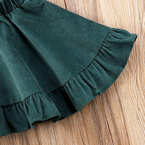 34b398544b4 XARAZA Toddler Baby Girls Strap Suspender Skirt Overalls Dress Outfit