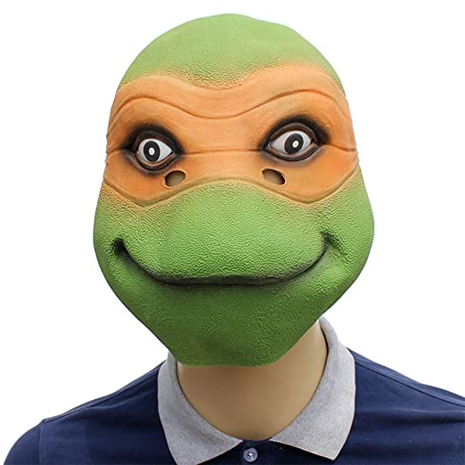 KTops Teenage Mutant Ninja Turtle Mask Novedad Halloween ...