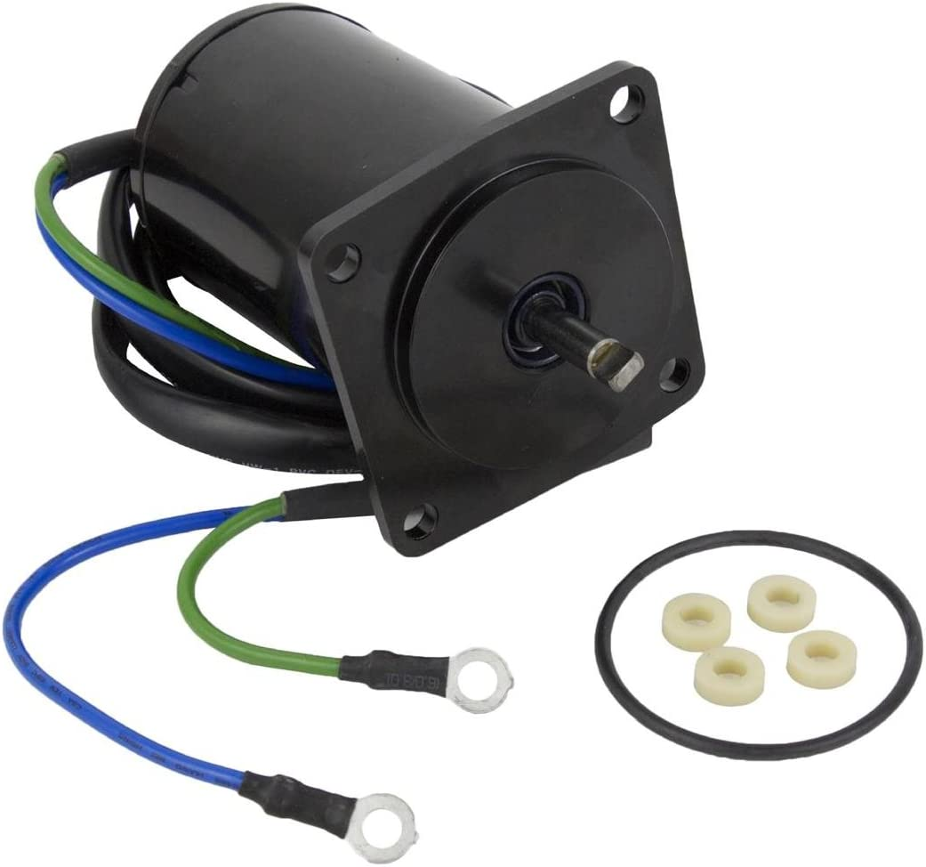 Rareelectrical NEW TILT TRIM MOTOR COMPATIBLE WITH YAMAHA 75HP 80HP 90HP 100HP 4 STROKE 67F-43880-00-00 1999.