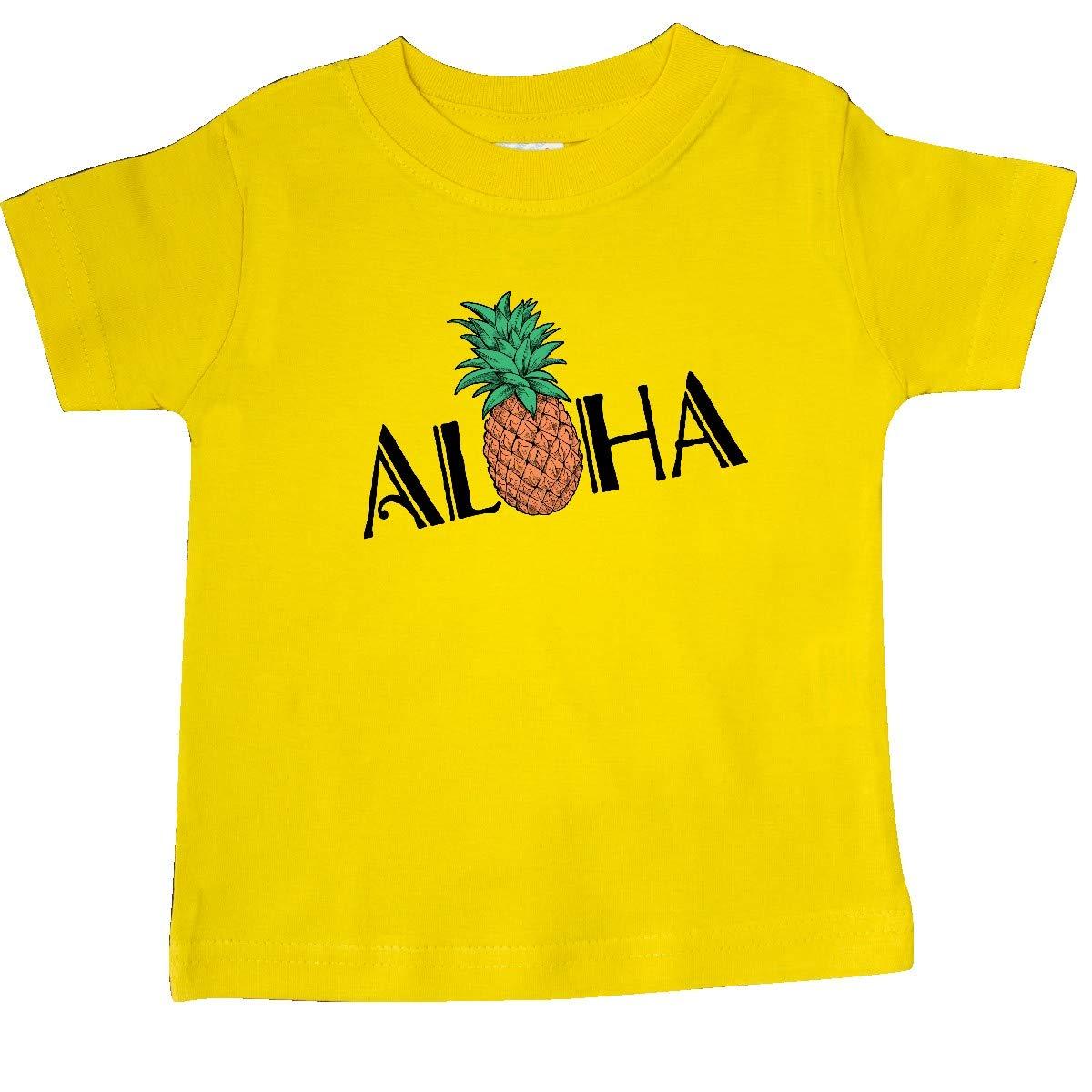 with Pineapple Baby T-Shirt inktastic Aloha