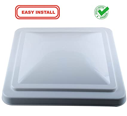 14 inch rv vent cover for camper trailer roof vent lid for vortex vent fan - Trailer Roof Vent
