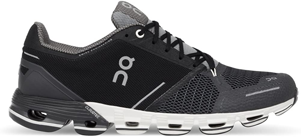 On Running – Cloudflyer Black White Mens Shoes Size 14US