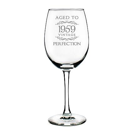 1959 60th Birthday Gifts Wine Glass For Women Men