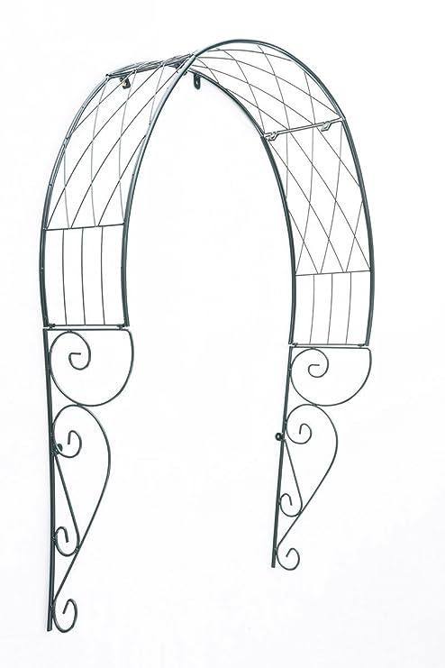 CLP Arco Metálico de Plantas para Puertas | Arco de Flores en Estilo Campestre | Arco