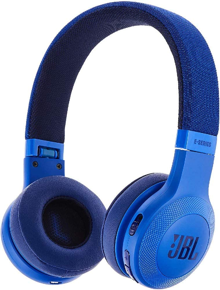 سماعة على الاذن لاسلكية من جيه بي ال E45BT BLU - ازرق