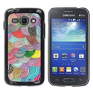 Paccase / SLIM PC / Aliminium Casa Carcasa Funda Case Cover para - Beret Colorful Art Diy - Samsung Galaxy Ace 3 GT-S7270 GT-S7275 GT-S7272