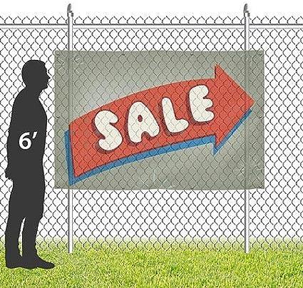 Sale CGSignLab Nostalgia Arrow Wind-Resistant Outdoor Mesh Vinyl Banner 9x6