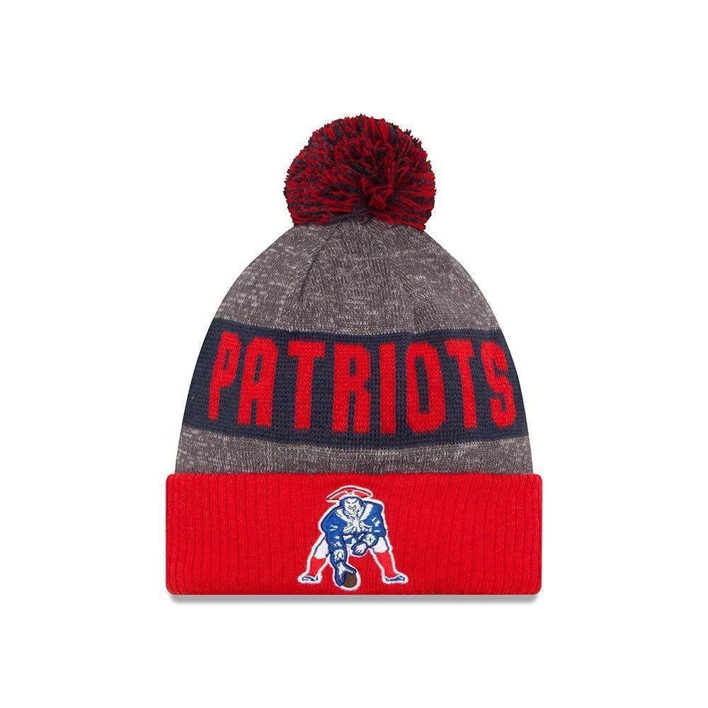 b0407a47 New England Patriots 2016 Sideline On Field Classic Sport Knit Hat