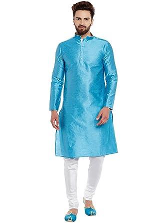 645a5e2dea Larwa Men's Kurta Pyjama Set With Flower Print Special for Diwali ...