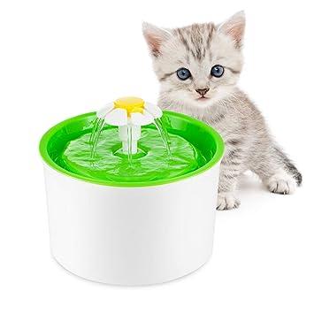 Fuente para Gatos de Lokkin, Fuente para Gatos, Fuente para Mascotas, Fuente de