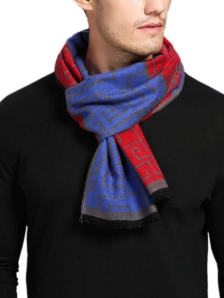 Herren Schal Winter Fleece Fleeceschal Karo 6 Designs