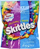 Skittles Flavor Mash-Ups. Wild Berry & Tropical.