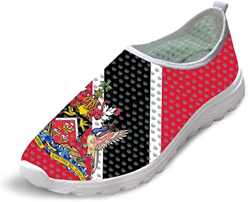 Owaheson Trail Runner Running Shoe Casual Sneakers Trinidad and Tobago Flag National Emblem